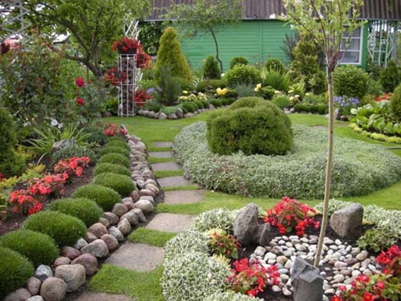 Дизайн сада своими руками фото идеи