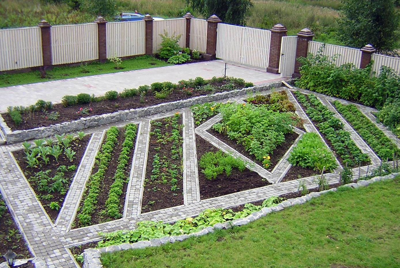 Ландшафтный дизайн сад огород своими руками фото