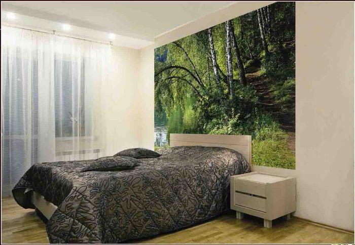 Обои для стен в спальню дизайн