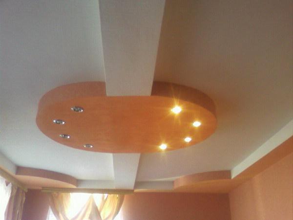 Ремонт матки потолка