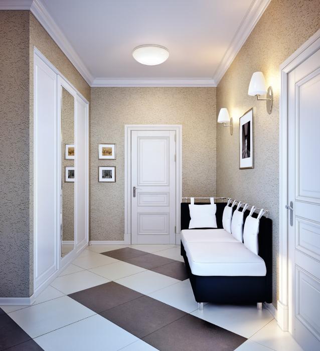 Дизайн коридора в доме 137 серии фото