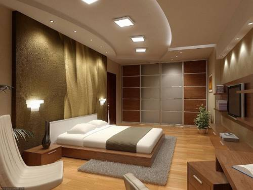 Дизайн спальни 18 м