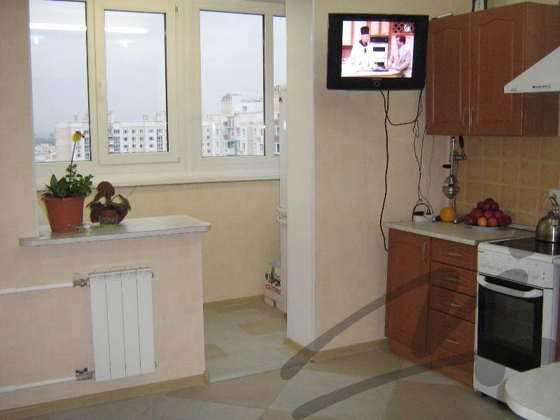 Фото кухни с теплым балконом. - фото отчет - каталог статей .