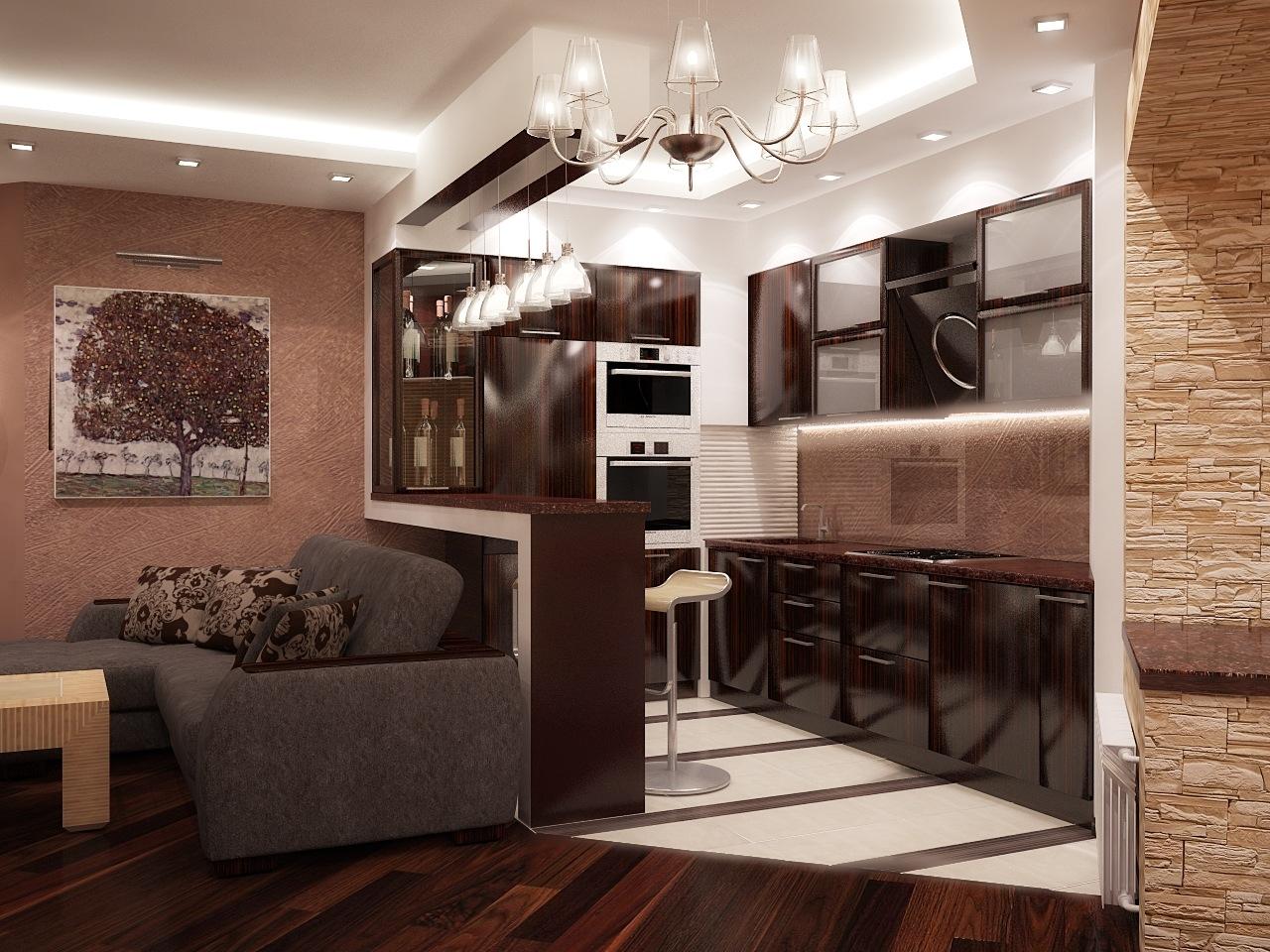 Дизайн кухонь в брежневке