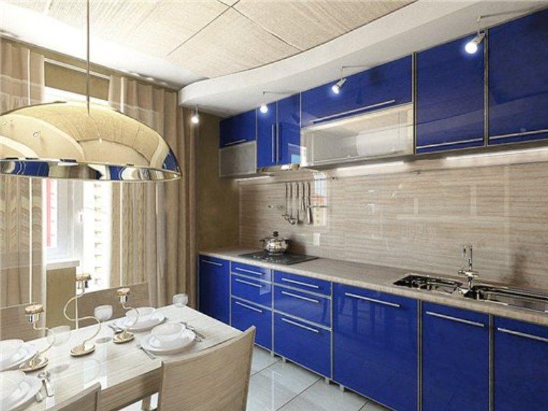 Дизайн кухни 12 квадратов