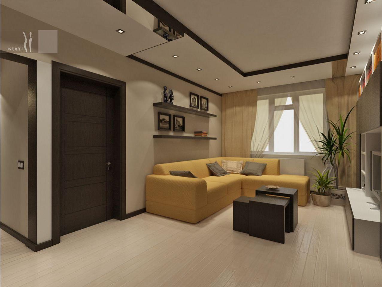 Дизайн малогабаритных гостиных фото
