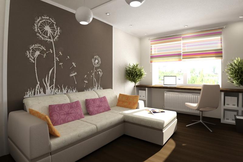 Дизайн однокомнатной квартиры 20 кв м