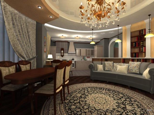 Дизайн зала в доме 25 кв м